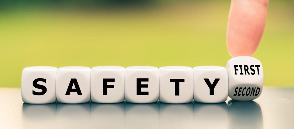 Sicherheit zuerst im Blasrohrsport